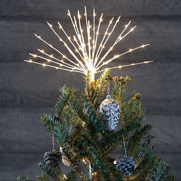 LED starburst tree topper